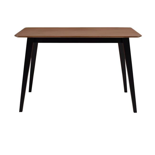 (As-is) Ralph Dining Table 1.2m - Black, Cocoa - 9 - 0