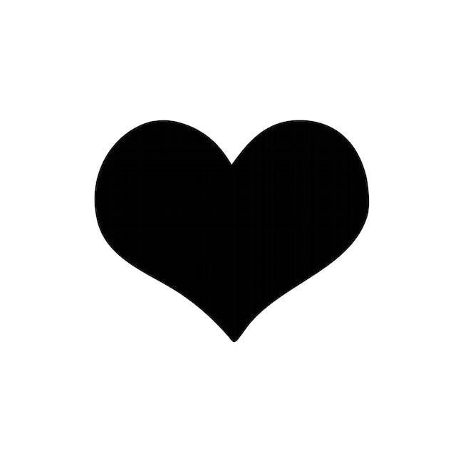 Securit Heart-Shaped Chalkboard - 0
