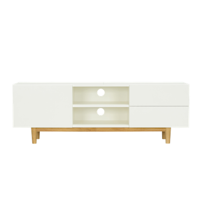 Aalto TV Cabinet with Kyra High Coffee Table - Image 2