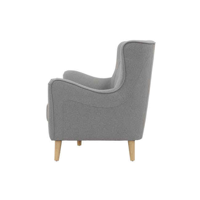 Jacob 3 Seater Sofa - Slate - 1
