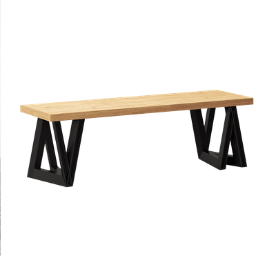 Modern Delta Bench - Image 1