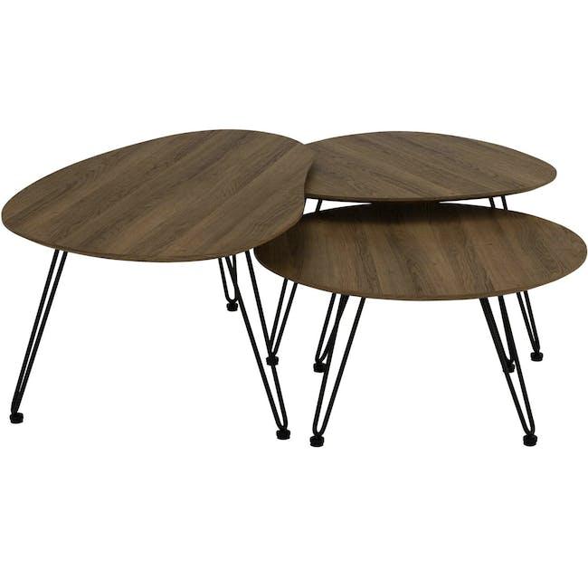 Corwin Round Coffee Table - 1