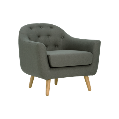 Senku Lounge Chair - Grey - Image 1