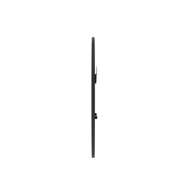 Hub Round Mirror 45 cm - Black - 2