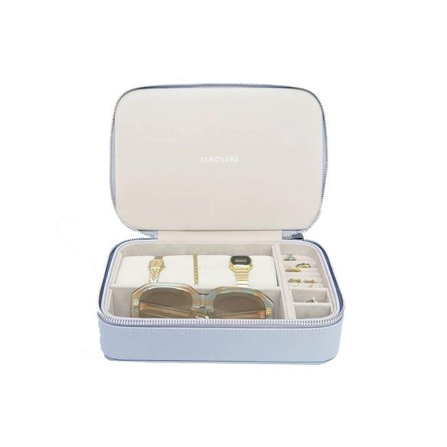 Travel Jewellery & Accessories Box - Lavender - 0
