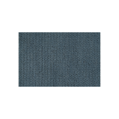 Plait Rug (2m by 3m) - Petrol Blue - Image 2