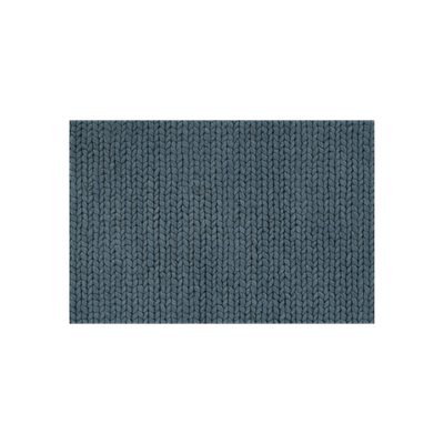 Plait Rug 3m by 2m - Petrol Blue - Image 2