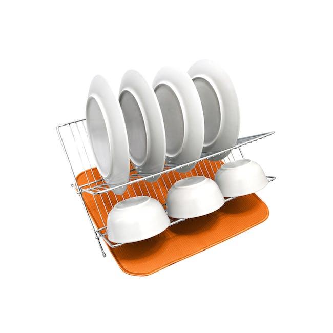 Dish Drying Mat Tangerine - 1