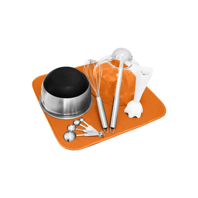Dish Drying Mat Tangerine - 4