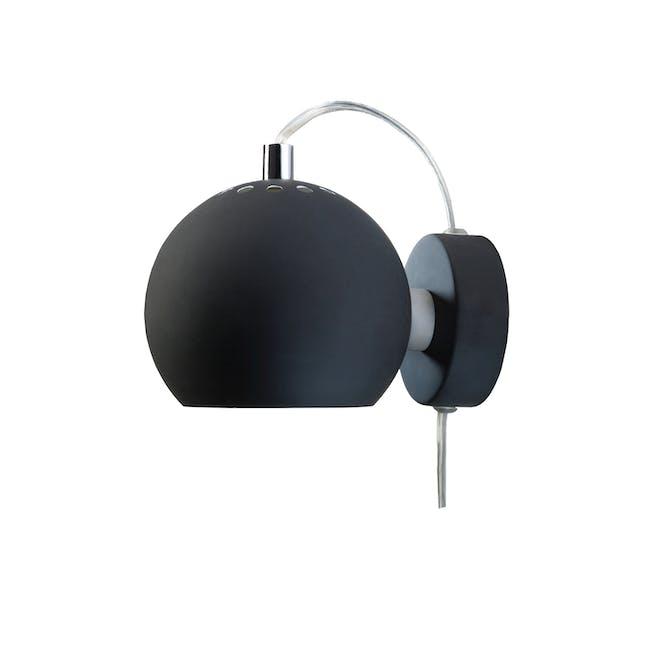 Slug Wall Lamp - Matte Black - Short - 1
