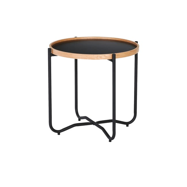Seifer Coffee Table with Tanix Side Table - 3