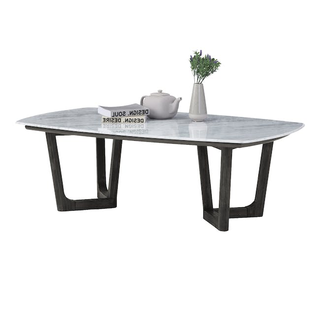 (As-is) Carson Marble Coffee Table - 1 - 16