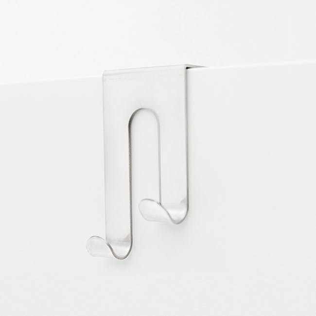 Bosign Double J-Hook over Drawer / Cupboard - White - 0