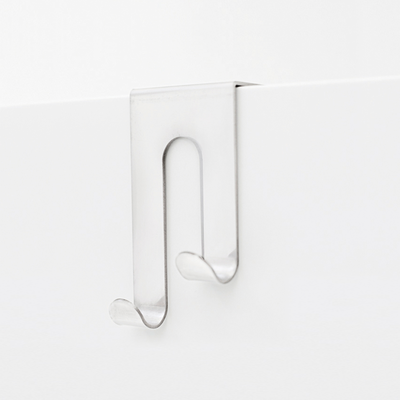 Double J-Hook over Drawer / Cupboard - White - Image 1
