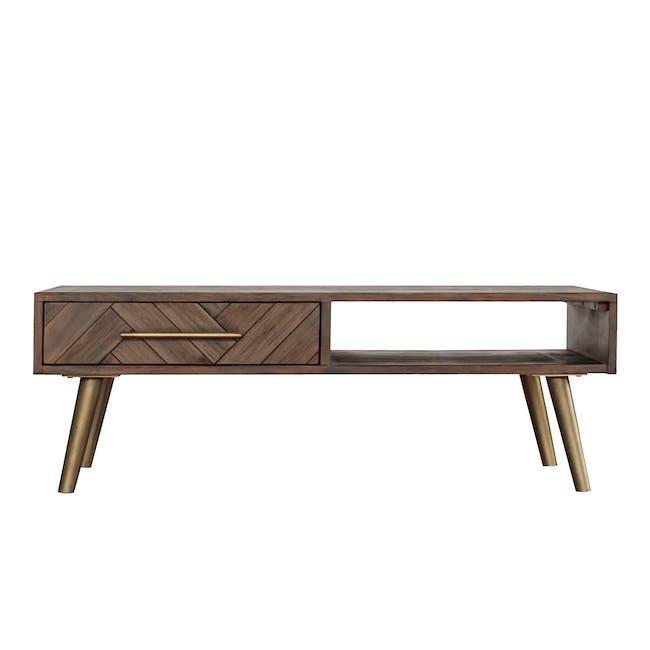 Cadencia Twin Drawer Coffee Table - 0
