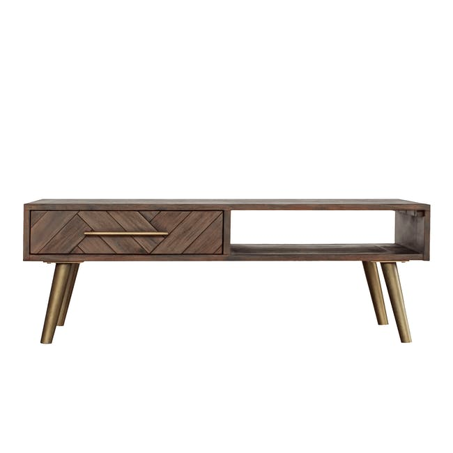 Cadencia TV Console 1.65m with Cadencia Twin Drawer Coffee Table - 12