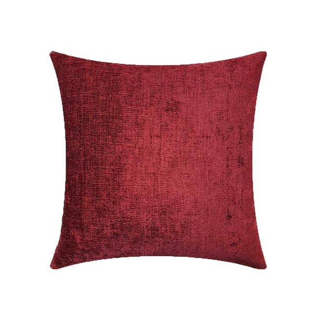 CHAMOIS Cushion Cover - Red - 0