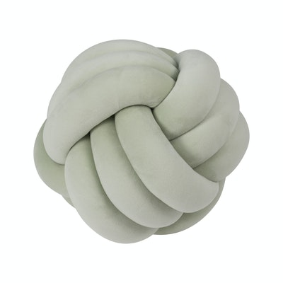 Knot Cushion Plush - Mint Green - Image 1