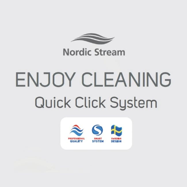 Nordic Stream Microfiber Mop Scrub Pocket Refills - 4
