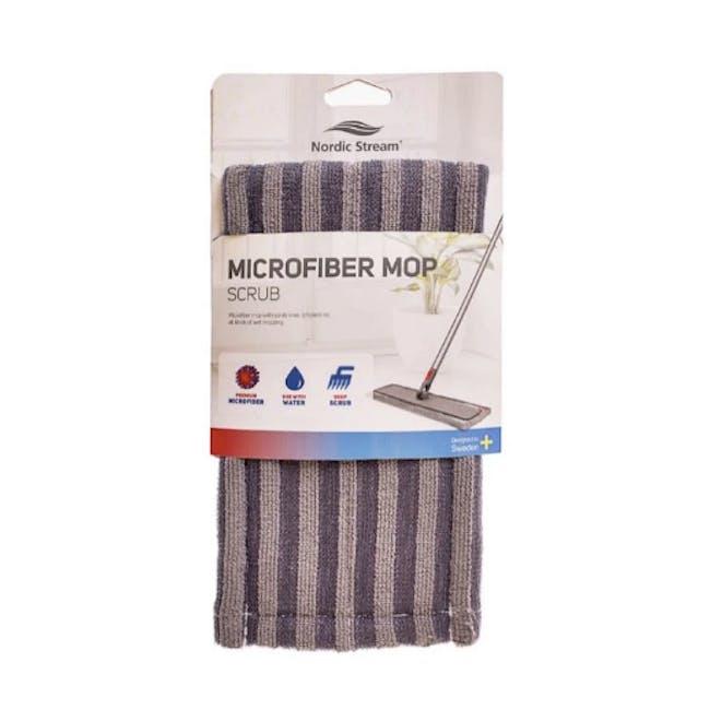 Nordic Stream Microfiber Mop Scrub Pocket Refills - 3