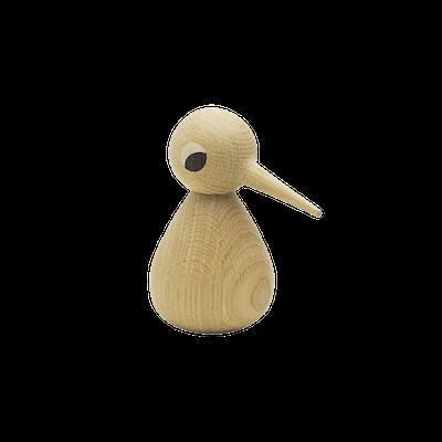 Peter the Standing Bird - Oak Wood Sculpture (Medium) - Image 1