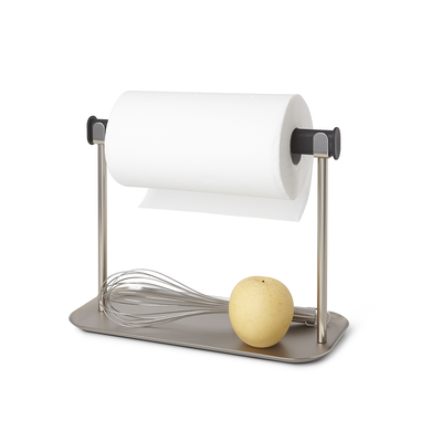 Limbo Paper Towel Holder with Tray - Image 1