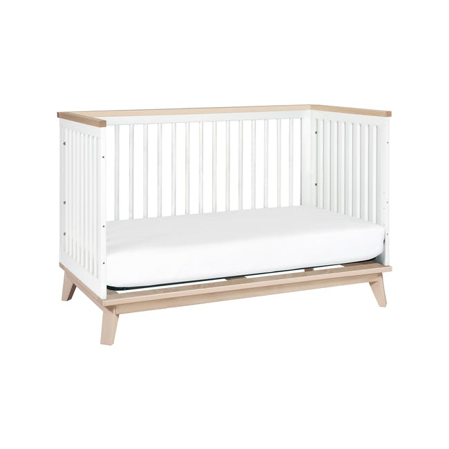 Babyletto Scoot 3-in-1 Convertible Crib - White/Washed - 7