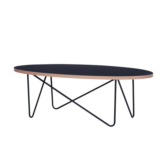 Seifer Coffee Table with Tanix Side Table - 2