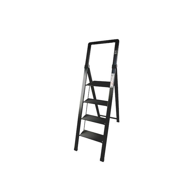 HOUZE Slim Aluminium 4 Tier Ladder - 0
