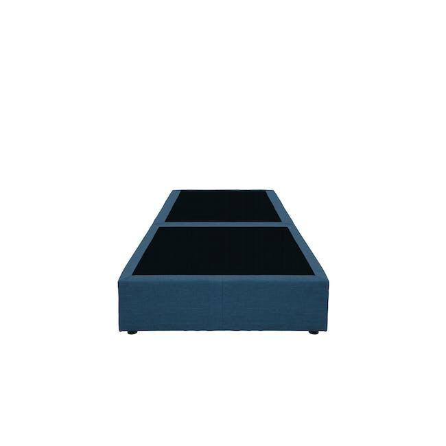 ESSENTIALS Single Box Bed - Denim (Fabric) - 1