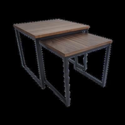 Brittany Nest Table Set - Walnut - Image 2