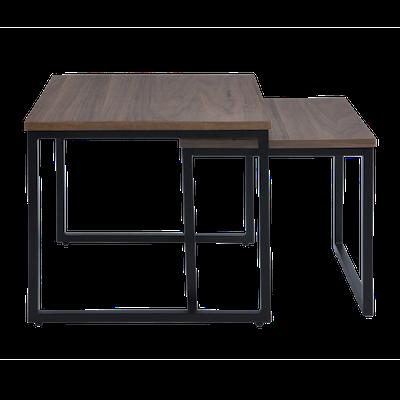 Brittany Nest Table Set - Walnut - Image 1