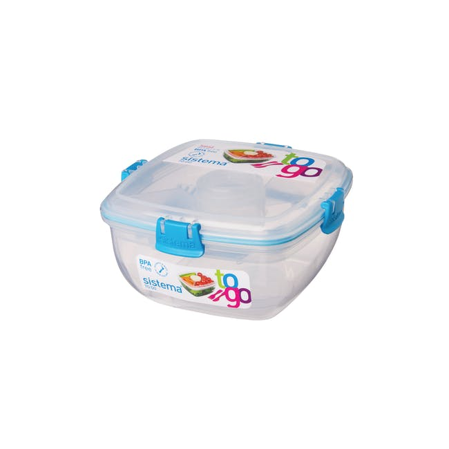 Sistema Salad to Go 1.1L - Blue - 0