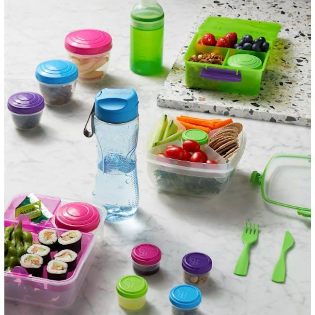 Sistema Salad to Go 1.1L - Blue - 1