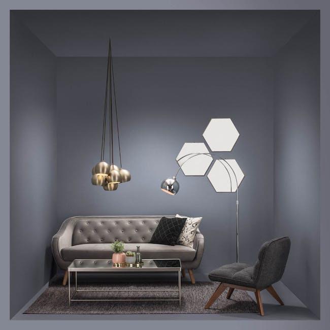 Tifa Rectangle Mirror Coffee Table - 1