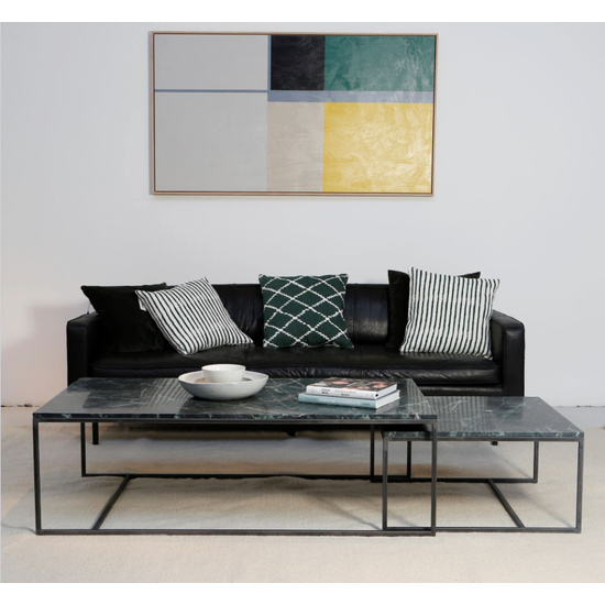Preloved - (As-is) Helios 3 Seater Sofa - Granite (Vegetal Tanned Leather) - 3