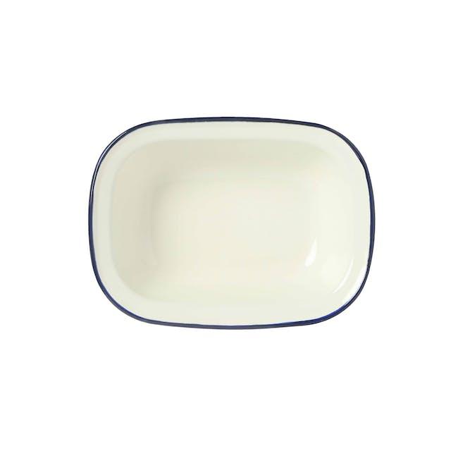 Wiltshire Enamel Oblong Pie Dish (3 Sizes) - 0