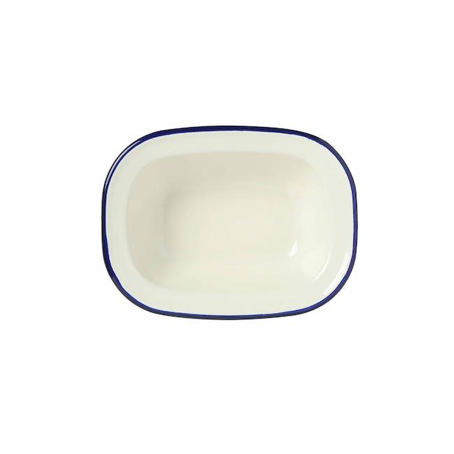 Wiltshire Enamel Oblong Pie Dish (3 Sizes) - 1
