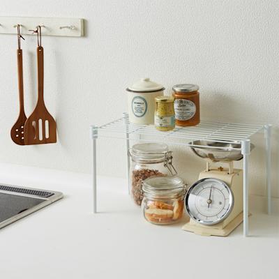 Heian SingleTier Kitchen Storage Shelf - Image 2