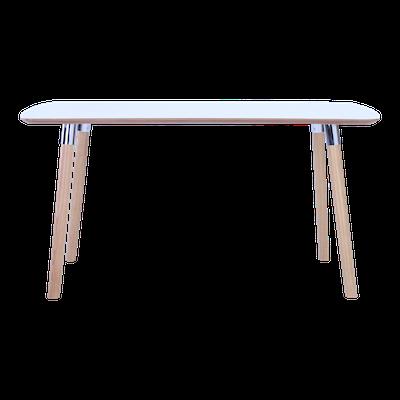 Jazz Dining Table 1.5m - White, Oak - Image 2