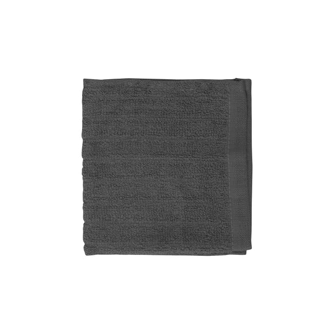 EVERYDAY Bath Towel & Face Towel - Charcoal (Set of 4) - 2