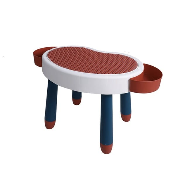 Kids Multi-Activity Play Table - Red - 0