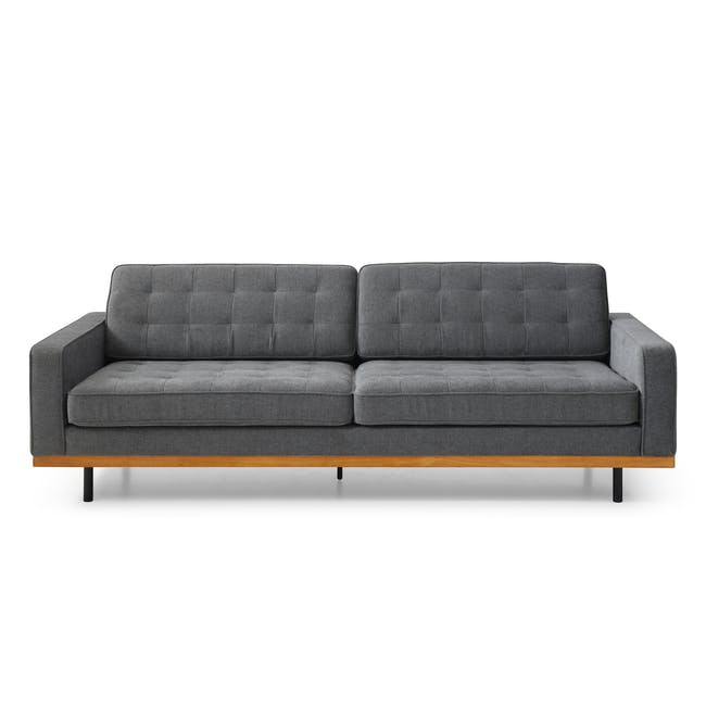 Conran 3 Seater Sofa - Charcoal Grey - 0