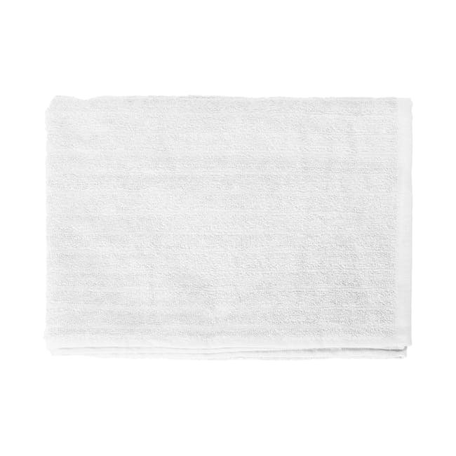 EVERYDAY Bath Towel - White (Set of 4) - 1