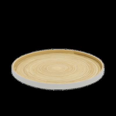 Rowan Bamboo Tray - White - Image 2