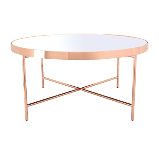 Helga - Xander Mirror Coffee Table