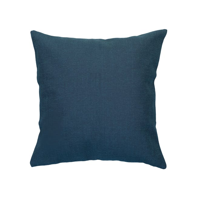 Throw Cushion Cover - Navy - 0