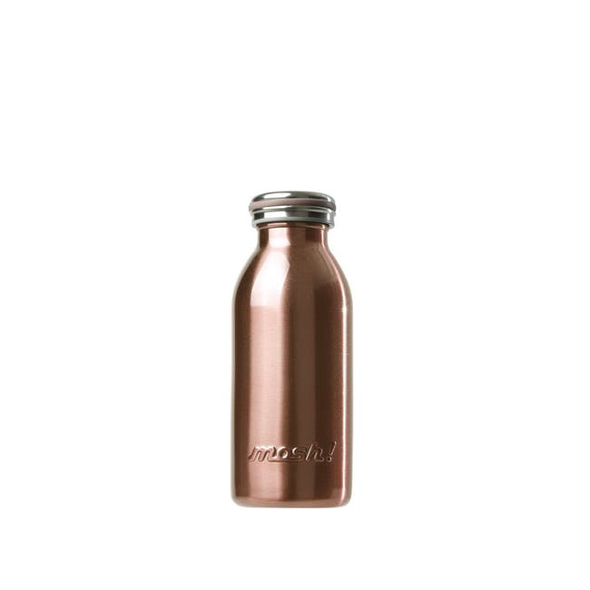 MOSH! Double-walled Stainless Steel Bottle 350ml -  Pearl Gold - 0