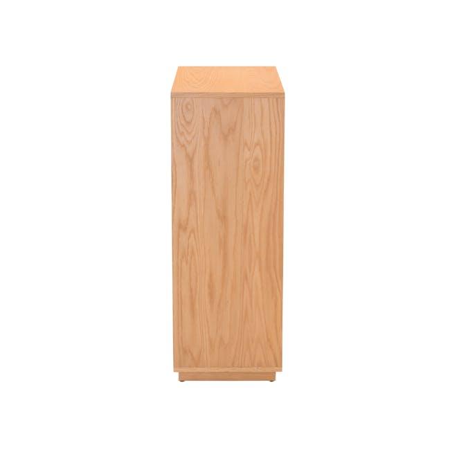 Keita Shoe Cabinet - Oak - 5