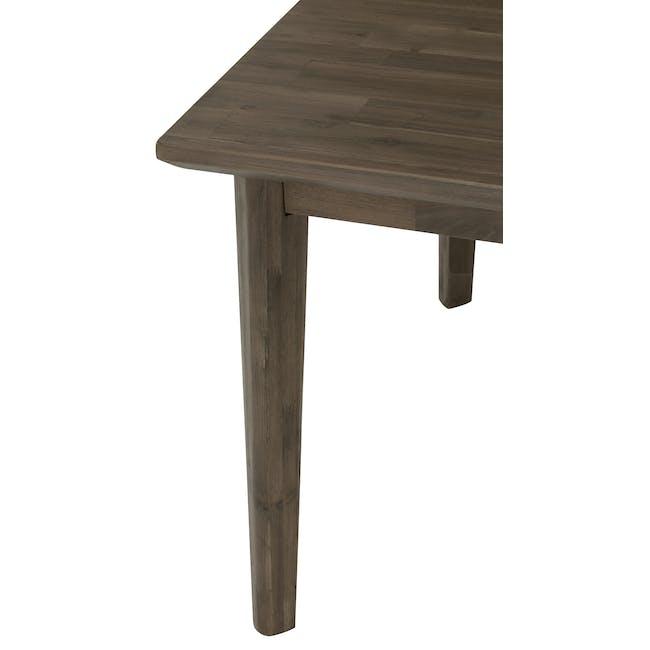 Tilda Dining Table 1.8m with 4 Dakota Dining Armchairs - 4